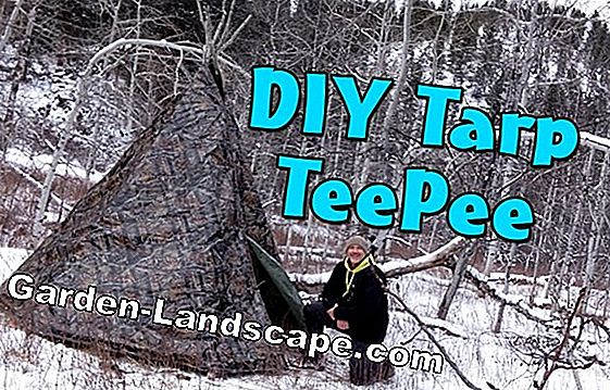 Building Weidentipi - step by step instructions for a teepee