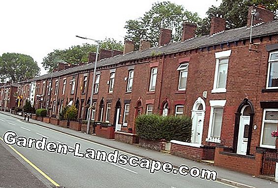 Nice terraced house terrace