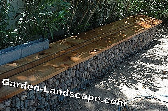 Gabion bench, build bench from Gabion itself