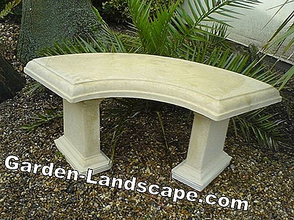Stone benches for the garden