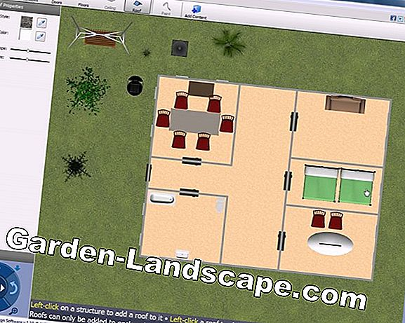 How to draw a garden plan