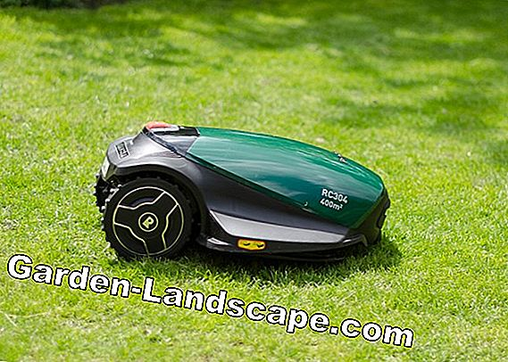 How to set up a robotic lawnmower