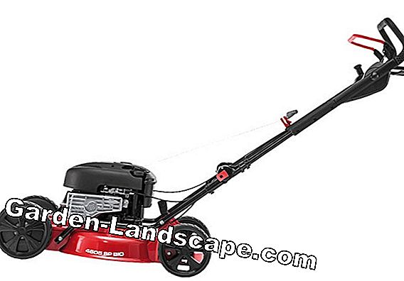 Mulching mower: Lawn mowing without a basket
