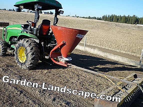 Spreader - Simply lay out grass seed and fertilizer