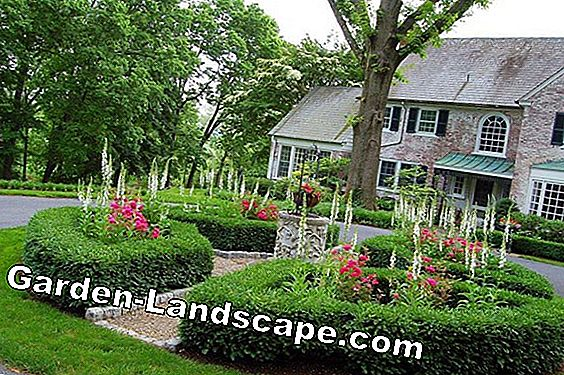 Create parking lot lawns and gravel lawns