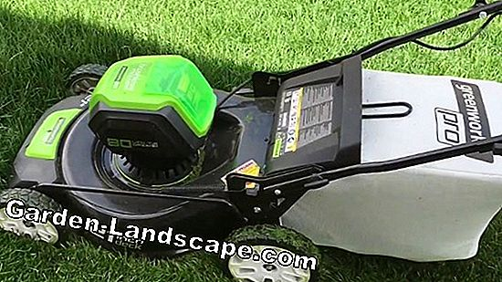 Cordless mower with 80 volts
