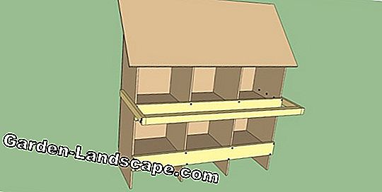 Building instructions: Build nesting box yourself