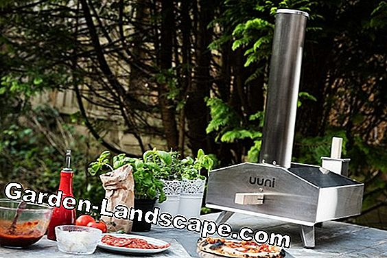 Outdoor chimney made of stainless steel