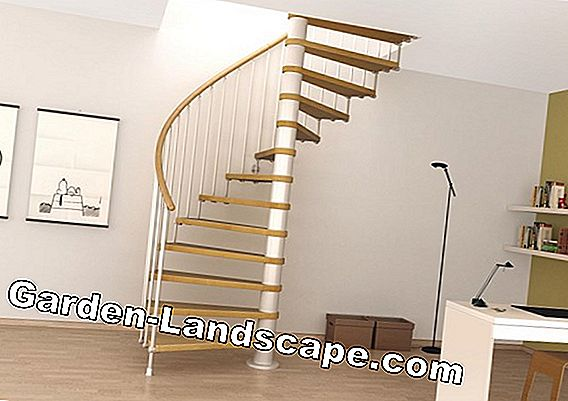 External spiral staircase - prices & costs