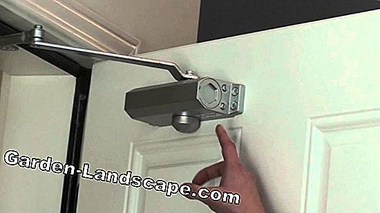 Automatic door closer - installation & adjustment