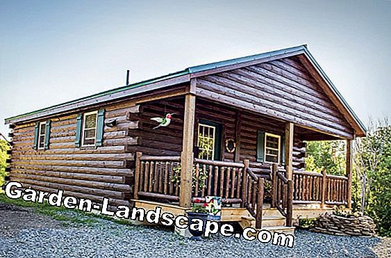 Building a log cabin - costs and prices