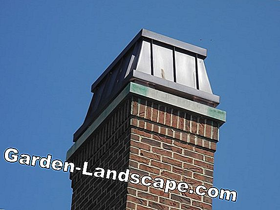 Chimney cover made of stainless steel, concrete, copper