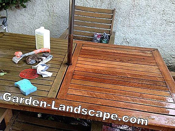 How to restore an old patio table