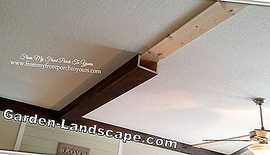 Cost of a wooden beam ceiling