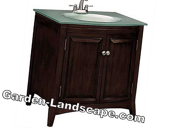 Double vanity - practical and stylish at the same time