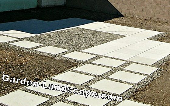 Laying grid stones at a favorable price