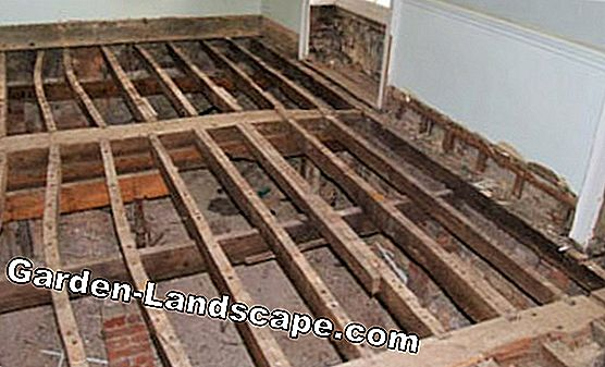 Insulation below and above the floor slab