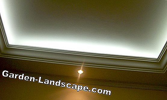 Recessed ceiling light with LED or halogen