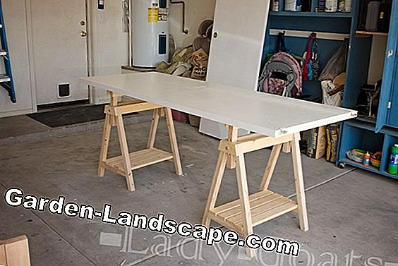 Build a sawhorse yourself - tips on dimensions & design