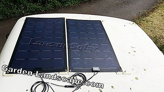 Solar systems for camper, caravan and camping