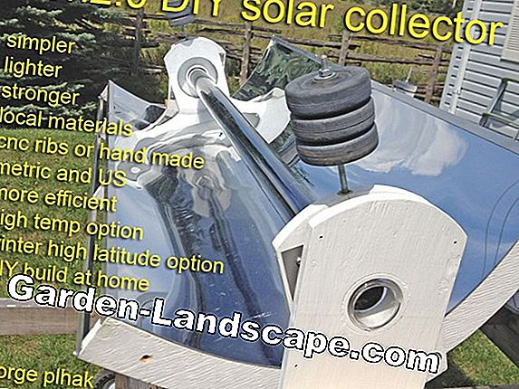 Build solar collector yourself
