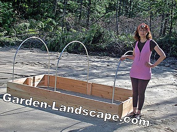 Build up the raised bed as a kit correctly