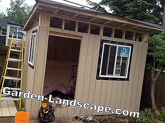 Your right in the garden: Building permit for the garden shed