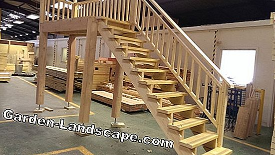 Build garden stairs yourself