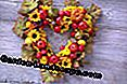 heart-shaped wreath with ornamental apples