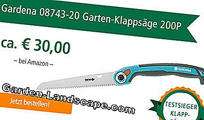 The Gardena 08743-20 Garden Folding Saw 200P at Amazon