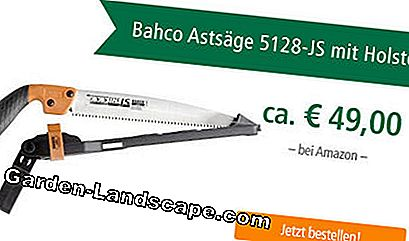 Bahco branch saw 5128-JS with holster at Amazon