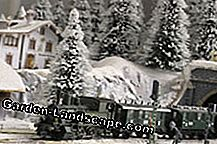 The garden railway can also be put into operation in winter