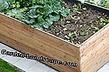 Use green waste for the raised bed