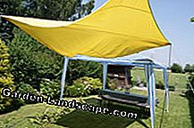 Currently very popular: the awning